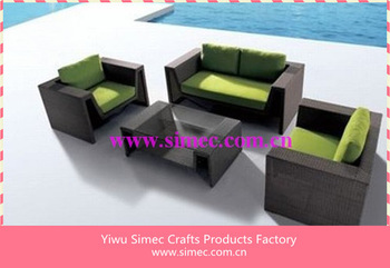 wicker rattan furniture patio  SCSF-140