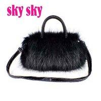 Drop/Free shipping!HOT! (1 pc) Fashion plush fur bag cute bags fashion handbags tote bags  Wholesale and retail  SK13