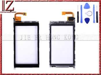 touch screen digitizer for nokia X6 with frame New and original MOQ 1 pic/lot free shipping china post 15-26 days with tool