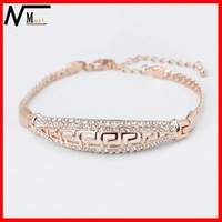 MT Brand Free Shipping With Wholesale And Retail High Quality Fashion Bracelet Rose Gold Plated Bracelets For Women