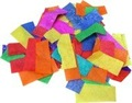 Free shipping color confetti paper for stage confetti cannon or confetti machine
