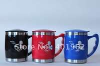 double way stainless steel auto mugs