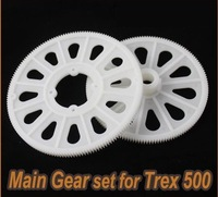 Main gear For Trex 500 CF ESP RC Helicopter 162T high quality Main Gear set~white~