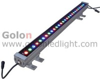 36W RGB LED wall washer by DMX512, RGB,single color,110V/ 220-240VAC,IP65,6pcs/lot,CE RoHS,2 years warranty. DHL free shipping