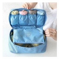 Free Shipping NEW Multi-functional Bra/Underwear Bag Organizer Pouch Storage Traveling Tote Wash Bag Waterproof Cosmetic bag