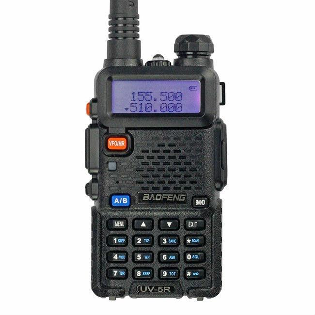 Free shipping (3pcs/lot) Fast delivery Original 136-174/400-520MHz VHF UHF dual band handheld marine radio baofeng UV 5R(China (Mainland))