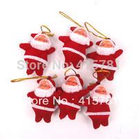 Christmas tree ornaments Christmas decorations Christmas gifts Santa Claus 150/lot