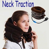 2014 New Pneumatic Neck Cervical Traction Brace Device For Head Shoulder Pain Neck Traction Device Neck Massager