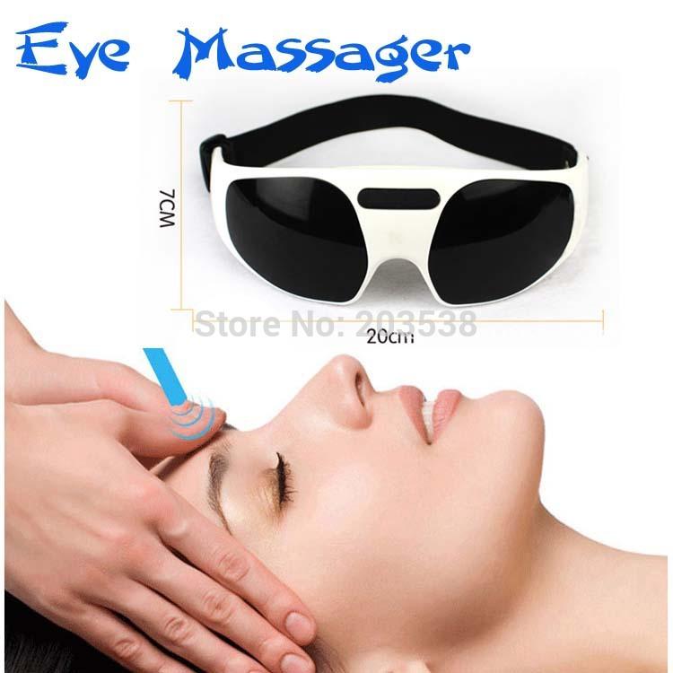 Wholesale USB Electric Eye Massager Small Massor Ergonomic Design Health Care Forehead Eye Massager(China (Mainland))