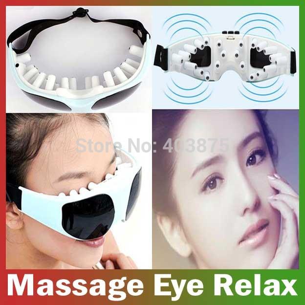 wholesale batteries Electric eye care Health care beauty Massage Small Massor ergonomic design, eye massager Free Shipping(China (Mainland))