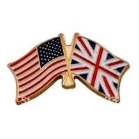 Newest Best Selling Hot Selling High Quality England And American Flag Lapel Pin