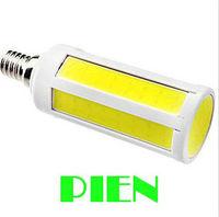 Super Bright 7W/12W COB SMD LED Corn Bulb Light E27/E14 Lamp Cool/Warm White 220V/110V Free Shipping 5pcs/lot