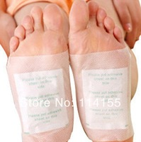 as seen on tv health care 100packs=200pcs/lot Kinoki Detox Foot spa Pads Patches with Adhesive (100pcs Patches+100pcs Adhesives)