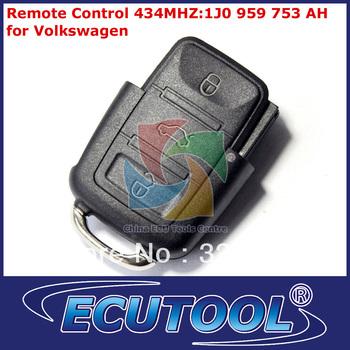 5pcs/lot VW Car Key Remote Control 1J0 959 753 AH 434MHZ for Volkswagen Free Shipping