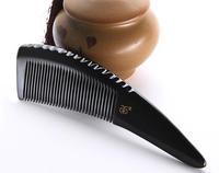 Natural heishui horn comb health care anti hair loss