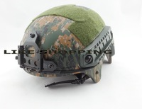 Tactical Helmet with NVG Mount Jungle camouflage multicam free ship
