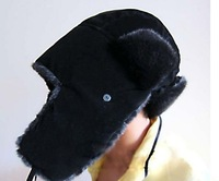 [Vic] 5pes/lot Warm Plush Hat Korean  Earmuff Hat Leifeng Cap #MZ030+Free Shipping,