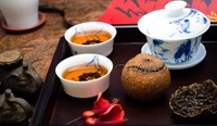 2 years old  Storage ,Rancio Orange puer tea from Xinhui Guangdong ,Pure taste,Good For Health,Good gift