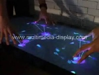 2 touch points 55 inch IR Touch Screen Frame for Multi Touch with High Sensitivity and low price, fast shipping