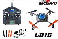 U816 2.4Ghz  4CH 4 Axis Remote Control UFO Aircraft Quadcopter RTF smaller than V929 UFO ,V911 Upgrade  Free shipping W/O BAT