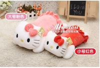 "Pink Hello kitty cat pillow  plush toy doll gift 40cm 15.7"" Sofa Cushion Bedroom Kid's Pillow Office nap"
