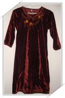 Muslim mention carat turn children's clothes twinset 003