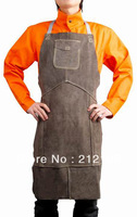 Free Shipping !! Leather Welding Work Glove !! Deluxe Cow Split Leather Welding Aprons