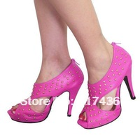Free shipping ! ladies Check 11CM heels shoes, Platforms high heel shoes sexy woman party shoes