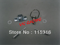 [Vic] 40pieces motorcycle parts Black color  Race Body Work Fairing Fastener Rivet CLIP  Type B