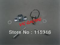 [Vic] 40pieces motorcycle parts Black color  Race Body Work Fairing Fastener Rivet CLIP  Type B