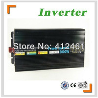 Hot sell high quality 2000w dc 12v to ac 220v pure sine wave inverter /solar inverter with 10A charger free shipping