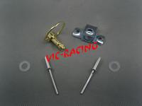 [Vic] 16pcs  motorcycle parts gold  color  Race Body Work Fairing Fastener Rivet CLIP  Type B