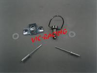 [Vic] 16pcs motorcycle parts Black color  Race Body Work Fairing Fastener Rivet CLIP  Type B
