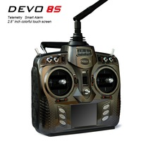 Walkera DEVO 8S transmitter 8Ch 2.4Ghz Telemetry Function rc Radio System