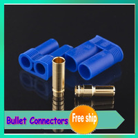 Register free shipping ! 10pair/lot EC5 Bullet Connectors Plugs Male / Female - Losi