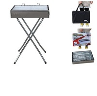 High quality BBQ Barbecue grills super energy-saving wind-prool stove outdoor camping  BRS  tempering type stainless steel grill
