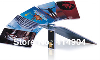 promotional gifts customized logo credit card shaped usb 2.0 Memory Drive Stick Pen/Thumb/Car