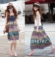 Free shipping high waist skirt lady flower printing skirts womens for women 2013