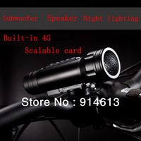 Bicycle lights Magic Music torch Multi-function Bike Speaker MP3 and Flashlight MP3