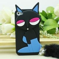 fox cartoon silicon case for iphone 5
