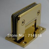 golden shower hinge,wall mounting shower glass hinge,brass hinge