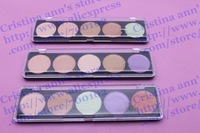 50PC/LOT ! Wholesales 5 Camouflage Palette Cream 10G Face Concealer Foundation cream ,#1.#2.#5. Free shipping