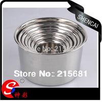 10cm Stainless steel seasoning pot Mixing bowl