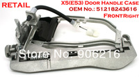 RETAIL ! High Quality Door handle carrier front right for BMW X5 (E53) OEM No.:51218243616