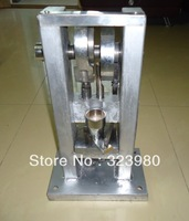 manual single punch tablet press machine + one set of round die without logo