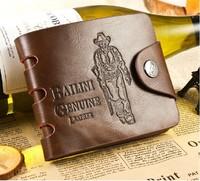 Mens Pockets Leather Wallet Purse Card Clutch Cente Bifold Cowhide wallet