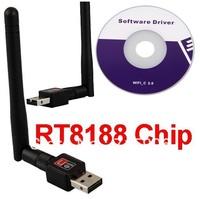 RT5370 Mini 150Mbps USB Wireless Network Card WiFi LAN Adapter PC 802.11n/g/b