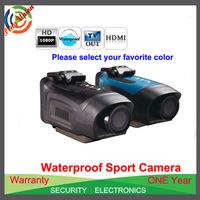 Free Shipping!!1080P 170 Degree Sport Action Camera+Helmet waterproof camera + Full HD 1080P+ 1.5 inch screen+ 4 x digital zoom