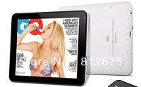 Free shipping!Support Russian P86 512 MB DDR3 HDD 8 gb 8 inch tablet PC multipoint capacitance screen android 4.0.4