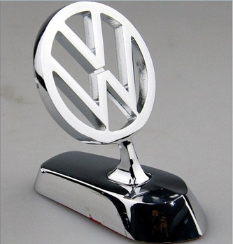 Free shipping Vw type luxury emblem refires emblem cover vw